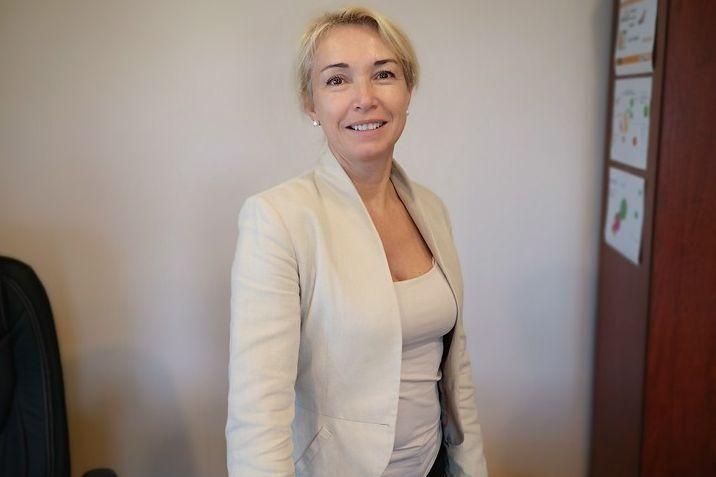 Orgován Katalin, a Pátria Nyomda Zrt. vezérigazgatója